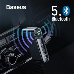 Baseus Car Aux Bluetooth Adapter Wireless 3.5mm Audio Receiver