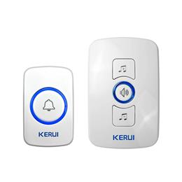 Wireless Doorbell System 32 Songs Optional Doorbell Transmitter Chime Welcome Security Alarm System