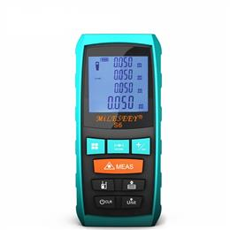 Laser Distance Meter Blue Digital Range Finder Measure Distance/Area/vol...