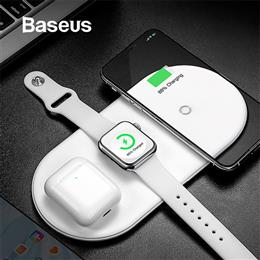 Baseus Wireless Charger For iPhone X XS MAX XR 8  Airpods  Apple Watch 4 3 2