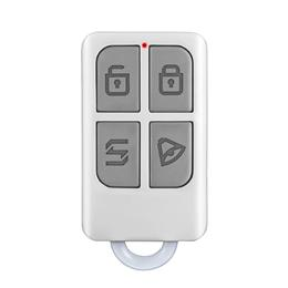 Wireless Portable Remote Control 4 Buttons For GSM PSTN Home Alarm System