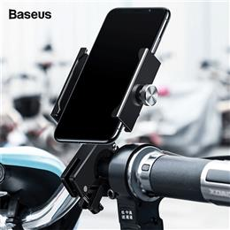 Baseus Motorcycle Bicycle Phone Holder For iPhone Universal Bike Mobile ...