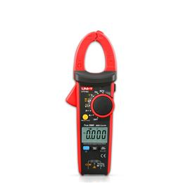 AC DC 600A Ammeter True RMS Digital Clamp Mutimeters Auto Range with C/F Thermometer V.F.C. NCV