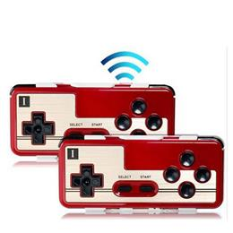 2pcs(P1+P2) of 8BITDO FC30 Bluetooth Wireless Game Controller for iOS/Android/Mac/Windows Smartphones   Tablet PCs