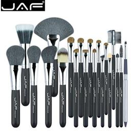 JAF  20 Pcs/Set Makup Brushes Premiuim Natural Hair of Goat   Pony Horse Super Soft Makeup Brush Tool Set J2001PY-B