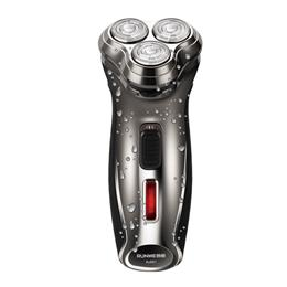 Electric Shaver Triple-track Blade Rotary Rechargeable Men Razor Male Ba...
