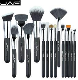 JAF Brand 15 pcs/set Makeup Brushes 15 pcs make up brush set high quality make-up brush kit J1502SSY-B