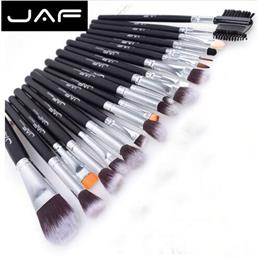 AF Brand 20 pcs/set Makeup Brush Professional Foundation Eye Shadow Blending Cosmetics Make-up Tool 100% Vegan Synthetic Taklon