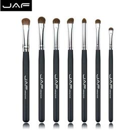 JAF Brand 7PCS Makeup Brushes Professional Natural Hair makeup Brush Set Horse High Quality Make Up Brushes