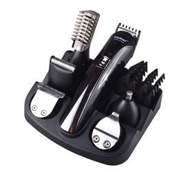 6 In 1 Hair Trimmer Titanium Hair Clipper Electric Shaver Beard Trimmer