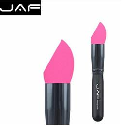 JAF Complexion Makeup Sponge Brush Foundation Soft Miracle Make Up Blender Puff Concealer Cream Non-Latex Cosmetic Sponge 16HXP