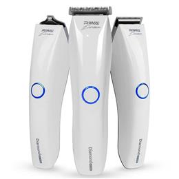 Multifunction Professional Hair Trimmer IPX7 Waterproof Hair Cutter White Rechargeable Clipper