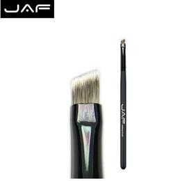 JAF  Retail Angled eyebrow brush synthetic hair professional makeup brus...