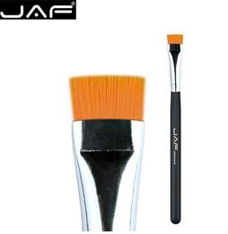 JAF Flat Even Eyeliner Brushes Soft Stiff Synthetic Hair Suitable for Ey...