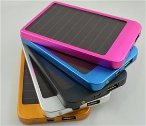 Solar Power Bank 10000mAH, Solar Mobile Charger YK36