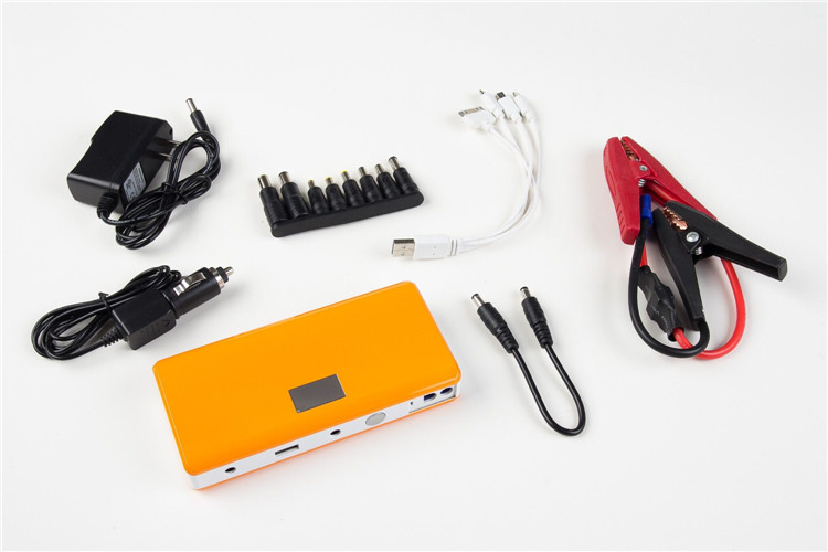 14000mah 12V Car battery, Car jump starter, Multi-function Power Bank YKC08