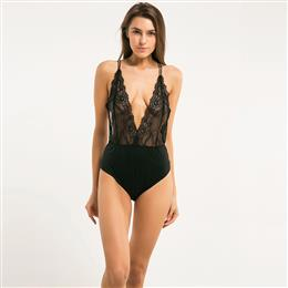 Summer Hot Sexy Lace Backless Bodysuit Hight Leg Soft Fitted Jumpsuits