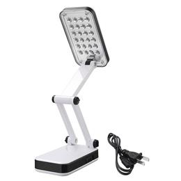 Foldable 24 LED Desk Lamps Solar Power Reading Light LED Table Lamps For Bedroom