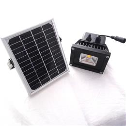 1 led solar lamp light-dependent control solar light lighting operation solar flood light PIR sensor
