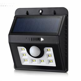 Solar Light 8 LED Lamp Security Motion Sensor Light Garden Lamp