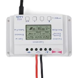 10A Solar Charge Controller 12V 24V Auto LCD Dispaly Solar Panel Battery Charge Controller