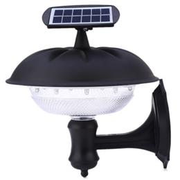 2W 160LM 20 LEDs Solar Powered Pumpkin Wall Lamp for Outdoor Lawn Light