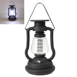 Super Bright Outdoor 16 LEDs Solar Panel Hand Crank Dynamo Lamp Camping Lantern