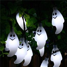 30 Led Ghost Solar String Lights Outdoor Solar String Waterproof Solar Power