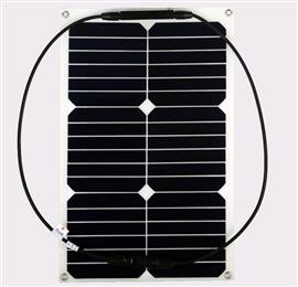 18W Flexible Solar Panel Module  Solar System 12V Chargeable Battery Boat Yacht Sun Power