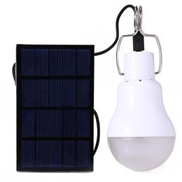Useful Energy Conservation S-1200 15W 130LM Portable Led Bulb Light Charged Solar Energy Lamp