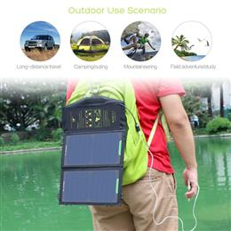 Portable 10W Solar Cell Charger Solar Panel Battery for cellphone, iPhon...
