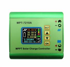 DC-DC Solar Charge Controller MPPT 10A for 24V 36V 48V 60V 72V Lithium Battery Charge Management