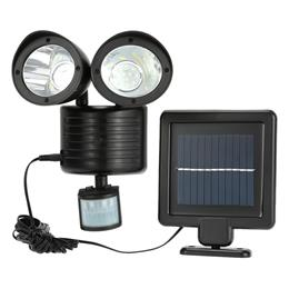 Newest 150LM 22 LED Solar Power Street Light PIR Motion Sensor Light Garden Security Lamp