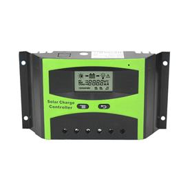 60A Solar Charge Controller 12V 24V LCD Display Light Timer Control Working Storage Function