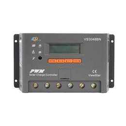 EPsolar ViewStar 30A Solar Charge Controller 12V 24V LCD Display Temp Sensor TTL232