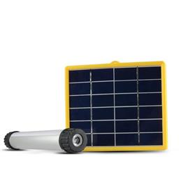 Portable Solar Powered Generator Home Lighting System Lamp Light 3W Solar Panel