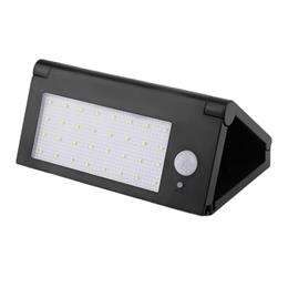 Outdoor Lighting 32 LED Solar Powered Panel Light Garden Folding Wall Lamp Spotlights LEDlamp