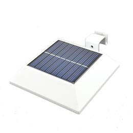 New PIR Motion Sensor 150LM Super Bright Solar LED Outdoor Gutter Series...