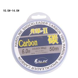 Leada 100% Carbon Fiber Fluor Fishing Lines 10.0-14.0