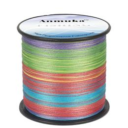PE Fishing Line 10M 1 Color 8 Strands 300M 20lb-80lb Pesca Multifilament Sea Mainline Lures Line