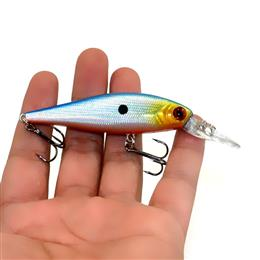 10pcs 9.5G 7.2G Game Fishing Lures Minnow Plastic Hard Bait Fishing Tackle