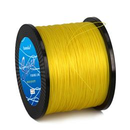 Super 1000m 10 - 80LB PE Multifilament 4 Strands Braid Line