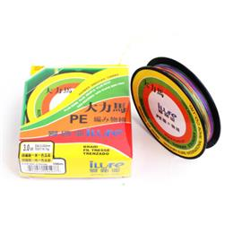 Brand 100 Mt Super Strong Japan 100% 4 PE Multicolor Braided Line