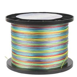 Fishing Line 300m Multicolor 1meter 1 Color Mulifilament Pe Braided  Line