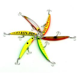 Artificiais 6pc Fishing Lure Fishing Sabiki Rigs Hard Bait Carp Fishing ...