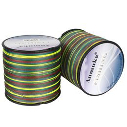 Brand 1000m Braided Pe Fishing Line 1 M 1 Color 8 Wevas Fishing Line
