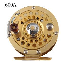1pc Top Quality Fishing Reel Glod Color Metal Fly Reel