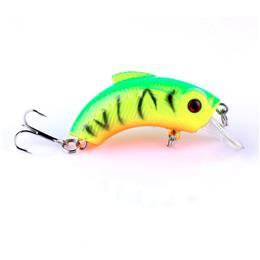 5pc Crank Fishing Lures Hard Bait Mini Set Hard Fishing Lure