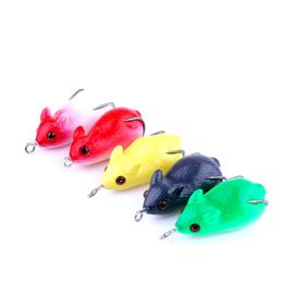 5pcs Baby Mouse Carp Fishing Lure Isca Artificial Soft Frog Lure