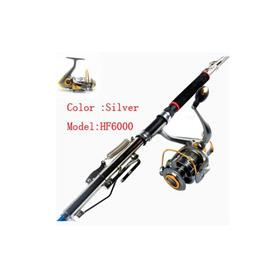 2.1m 2.4m 2.7m Automatic Fishing Rod Sea River Lake Pool Fishing Pole Device HF6000
